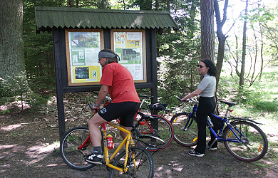 Preview - Cyklotrasy Vranov nad Dyjí Vranovská přehrada – cyklostezky