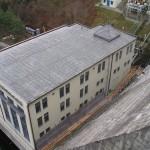 Hráz vranovské přehrady - rekonstrukce 2004