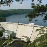 Hráz vranovské přehrady dnes
