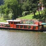Loď Valentýna - Lodní doprava Vranov