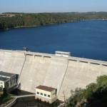 Vranovská přehrada - hráz