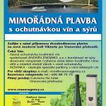 Lodní doprava Vranov nad Dyjí - ochutnávka vín