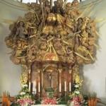 Oltář v zámecké kapli
